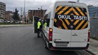 İstanbul'da 5 bin 192 okul servisi denetlendi 3 bin 887'sine ceza kesildi
