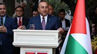 Bakan Çavuşoğlu'ndan Filistinlilere mesaj: Yüz milyonlarca Müslüman sizinledir