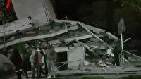 Arnavutluk'ta 6.4 büyüklüğündeki deprem sonrası ilk görüntüler