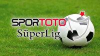 Süper Lig'in 13'üncü haftasında sakat ve cezalı oyuncular