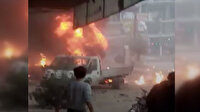 Afrin'deki bombalı saldırı sonrası ilk görüntüler