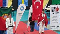Down sendromlu sporcumuz Talha Ahmet Erdem'den tarihi başarı