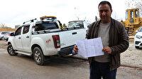 Konya'daki kamyonete İstanbul'dan ceza kesildi: Araç Trabzon'dan alınmıştı
