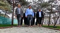 Türkiye'nin ayakkabısız girilen ilk parkı: Şifa Bahçesi