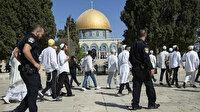 İsrail'de aşırı sağcılar Mescid-i Aksa'ya baskın yaptı
