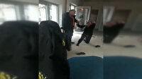 Güvenlik müdürü 2 kadın görevliye saldırdı