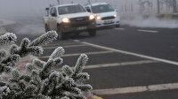 Meteorolojiden 6 bölgeye kuvvetli buzlanma ve don uyarısı yapıldı