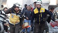 Esed rejimi ve Rusya'nın İdlib'deki yerleşimlere düzenlediği hava saldırılarında 19 sivil hayatını kaybetti