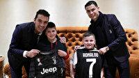 Ronaldo ve Buffon gönülleri fethetti