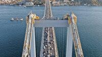 """46 yıllık köprüde """"24 saat"""" bakım ve kontroller"""
