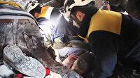 Enkazda can pazarı: Suriye'de rejim ve Rus uçakları İdlib'i bombaladı