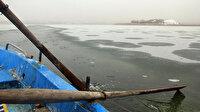 Sivas'ta termometreler sıfırın altını görünce göl buz tuttu