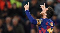 Messi'den tarihi hat-trick: Ronaldo'yu geride bıraktı