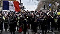 Macron karşıtları sokakta: Gösteriler nedeniyle ülkede ulaşım felç oldu