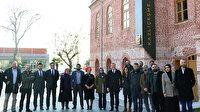 Ömer Arısoy: Tarihi binanın restorasyonu sırasında bulunan mozaik koruma altına alındı