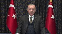 Cumhurbaşkanı Erdoğan'dan 10 Aralık İnsan Hakları Günü mesajı