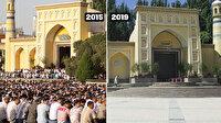 Kaşgar'ın tarihi camisinin son hali içler acısı