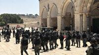 Müslümanlara psikolojik baskı uyguluyorlar: Fanatik Yahudiler yine Mescid-i Aksa'ya baskın düzenledi