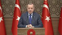 Cumhurbaşkanı Erdoğan: İnsanoğlu göğe değil toprağa yakın yaşamalıdır