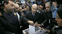Cezayir'de cumhurbaşkanlığı seçimleri: Eski başbakan seçildi