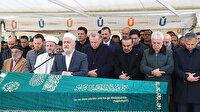 Cumhurbaşkanı Erdoğan aile yakınının cenaze törenine katıldı