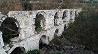 Bayrampaşa'da tarihi kemere taş hırsızları dadandı