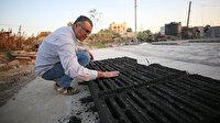 Gazzeli mühendis çevre dostu briket üretti: İsrail ablukası altındaki Gazze'ye taşıdı