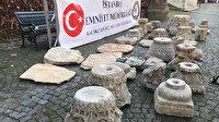İstanbul'da Helenistik, Roma ve Bizans dönemine ait tarihi eserler ele geçirildi