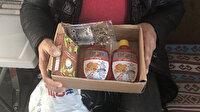 350 liralık cep telefonu sipariş etti kargodan bitkisel çayı ile temizleme ürünü çıktı