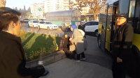 Minibüs şoförü fenalaşan KOAH hastasını hastaneye yetiştirdi