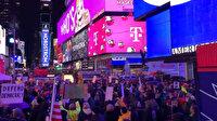 ABD'nin birçok yerinde Trump karşıtı gösteriler düzenlendi