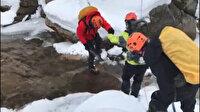 Uludağ'da kaybolan dağcıları arama çalışmaları sırasında iki ceset bulundu