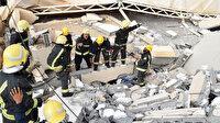 Suudi Arabistan'da üniversitenin duvarı çöktü: 2 kişi hayatını kaybetti, 13 kişi ise yaralandı