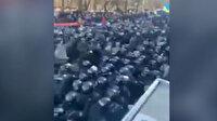 Çiftçiler polisle çatıştı