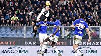 Cristiano Ronaldo Sampdoria'ya attığı olağanüstü kafa golüyle adından söz ettirdi