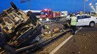 Ordu'da otomobil kamyonetle çarpıştı: 7 yaralı
