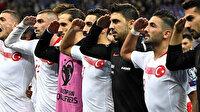 """UEFA'dan milli futbolcularımıza skandal """"asker selamı"""" cezası"""
