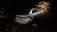Beldeyi karanlığa gömen kaza: Yüksek gerilim hattına çarptı