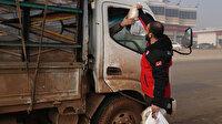 İdlib'de göç yolundaki ailelere acil yardım paketi: Göç etmek zorunda kalan sivil sayısı 100 bini aştı