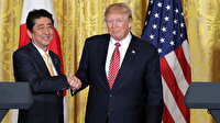 Trump ve Abe telefonda Kuzey Kore ve İran'ı görüştü