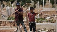 İdlib'in çocuk mezarcıları: Savaş ve ölümden başka bir şey görmediler