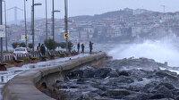 İstanbul'da fırtına etkisini kaybediyor: Yağış devam edecek sıcaklık düşecek