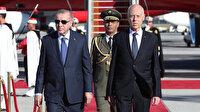 Cumhurbaşkanı Erdoğan Tunus'ta