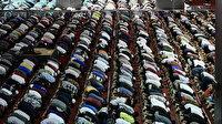 Yılın son Güneş tutulması gerçekleşti: Müslümanlar, kılınan küsuf namazını eda etti