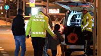 Alkollü baba araç içerisindeki çocuğunu bırakıp kaçtı
