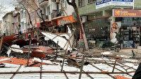 Çanakkale'de şiddetli fırtına apartmanın çatısını uçurdu: 2 hafta önce bakım ve onarımı yapılmıştı