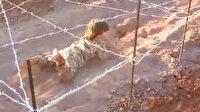 DEAŞ'lı teröristlerin cep telefonundan inanılmaz görüntüler: Çocuklara ateş altında eğitim