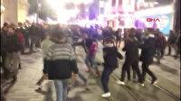Yılbaşı kutlamaları sonrası tekme tokat kavga kamerada