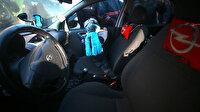 Otomobilde mahsur kalan çocuk itfaiye ekiplerince kurtarıldı