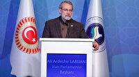 İran Meclis Başkanı Laricani'den ABD'ye tepki: Hiçbir uluslararası hukuka uymuyor